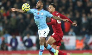 Liverpool vs Mancity,on-field football